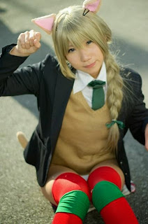 Fuyutanshio cosplay as Lynette Bishop from Strike Witches