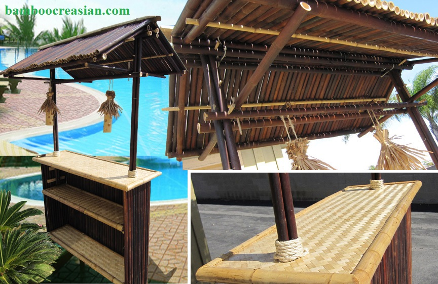 Quality Bamboo and Asian Thatch: Build custom Bamboo Bar Tiki ...