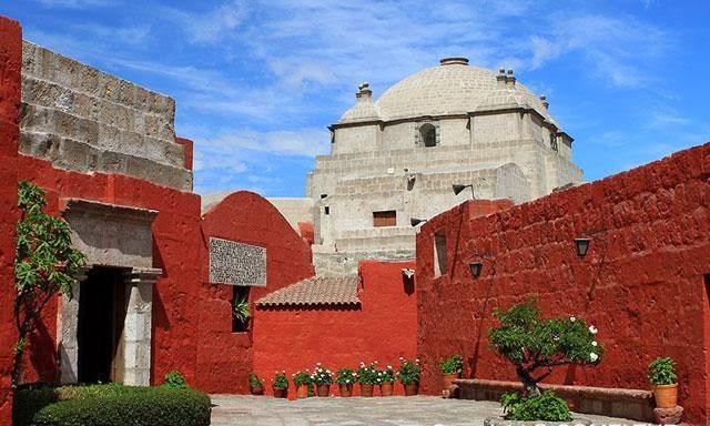 Monasterio de Santa Catalina en Arequipa