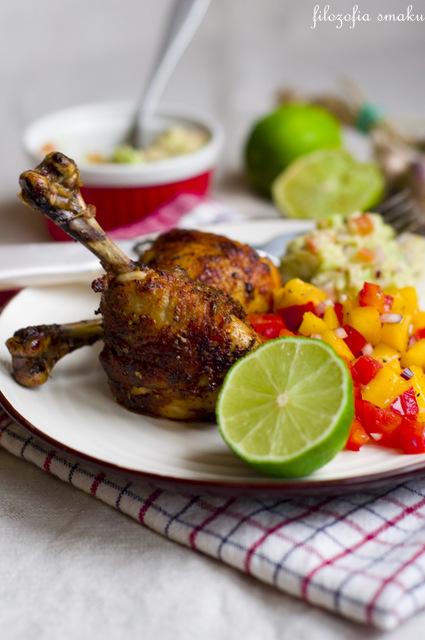 Kurczak z guacamole