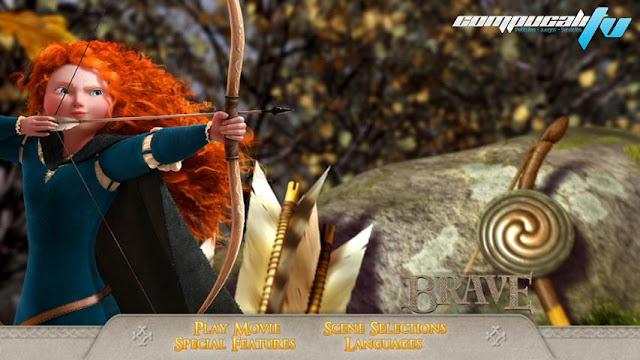 Brave DVDR NTSC Español Latino Menú Full 2012