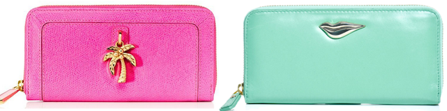 Zip Around Wallets - Juicy Couture Diane Von Furstenberg