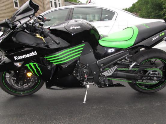 Kawasaki Ninja ZX 14 Monster Energy