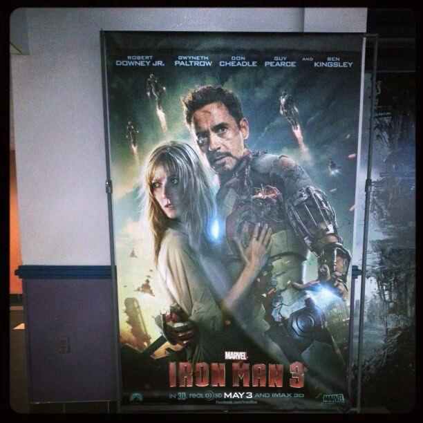 Iron Man 3 - poster para cines