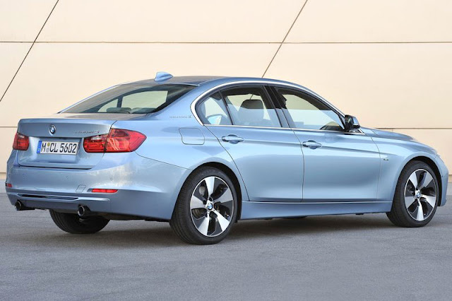 2013 BMW ActiveHybrid 3 Back Exterior