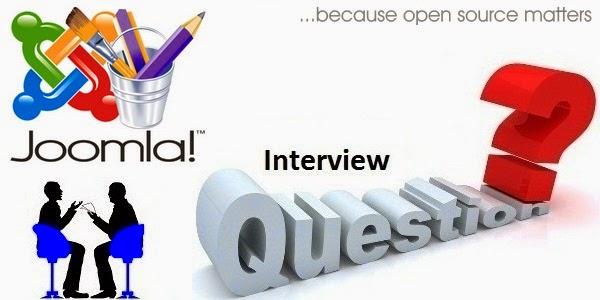 Joomla Interview QA