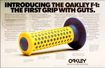 Oakley F1 Grips