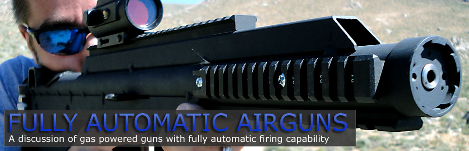 Fully Automatic Airguns
