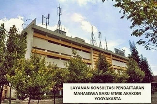 PENDAFTARAN MAHASISWA BARU STMIK AKAKOM YOGYAKARTA