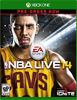 NBA LIVE 14 Xbox One Box Art - High Resolution
