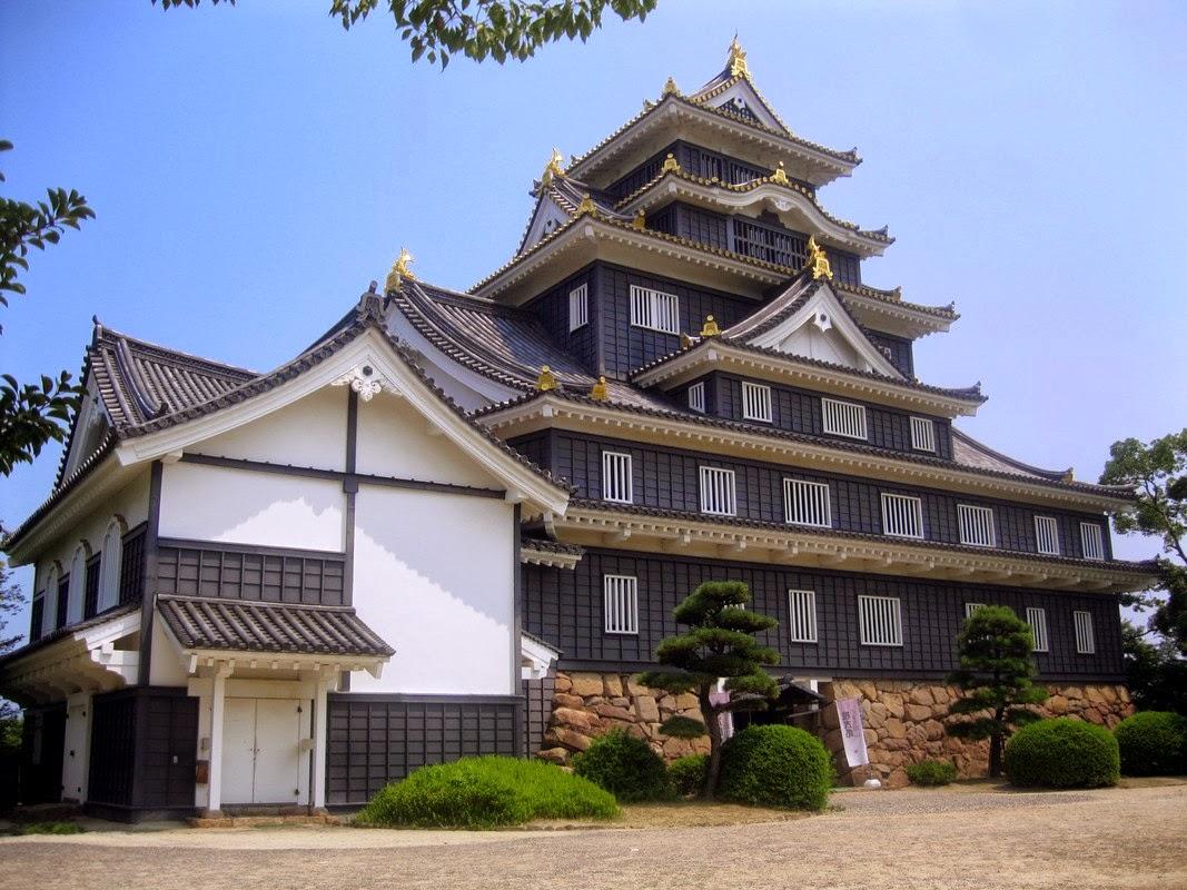 Okayama e l 39 isola di shikoku takamatsu e matsuyama for Architettura giapponese