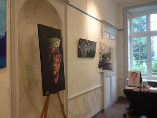 Visite guidée de ma partie de l'expo au côté d'Elodie Dumoulin - Guillaume Néel ©