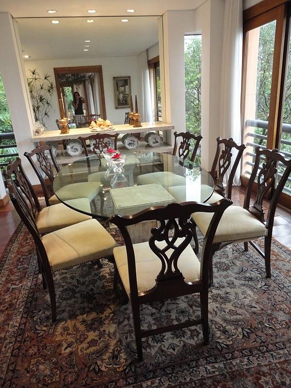 decoracao de interiores estilo handmade: Decoração de Interiores: Decoração de Ambientes Sala de Jantar