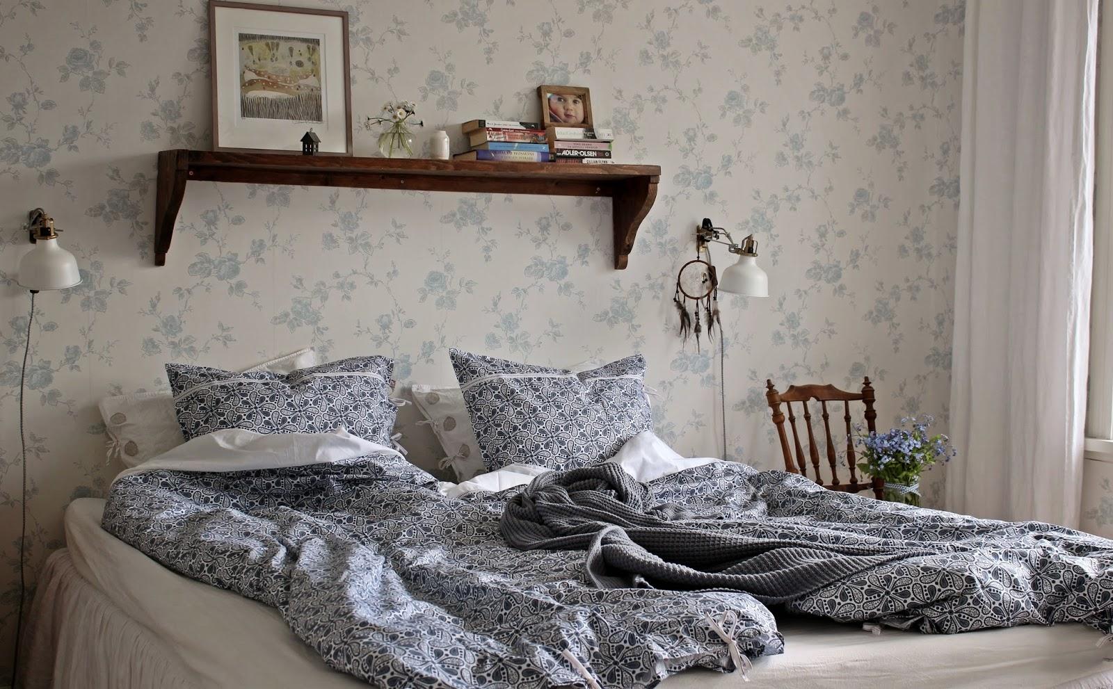 Paulina & jag: ett sovrum i försommarens tecken...