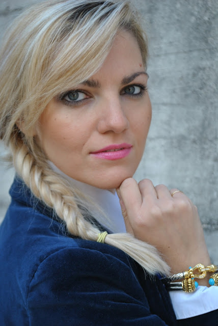 mariafelicia magno fashion blogger,color block by felym,fashion blog italiani bracciale majique accessori invernali bracciali invernali ragazze bionde occhi azzurri blonde girls blonde hair blondie blue eyes fashion bloggers italy