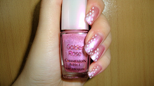 EVITA, Golden Rose, Chameleon Effect, Nails, Nail Polish