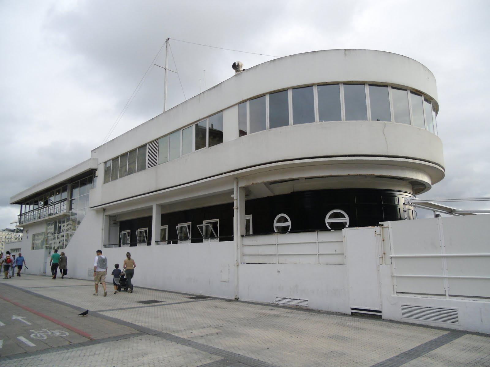 Club nautico de san sebasti n 1929 arquitectura de - Arquitectos san sebastian ...