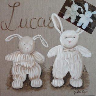 Le lapin de Lucas