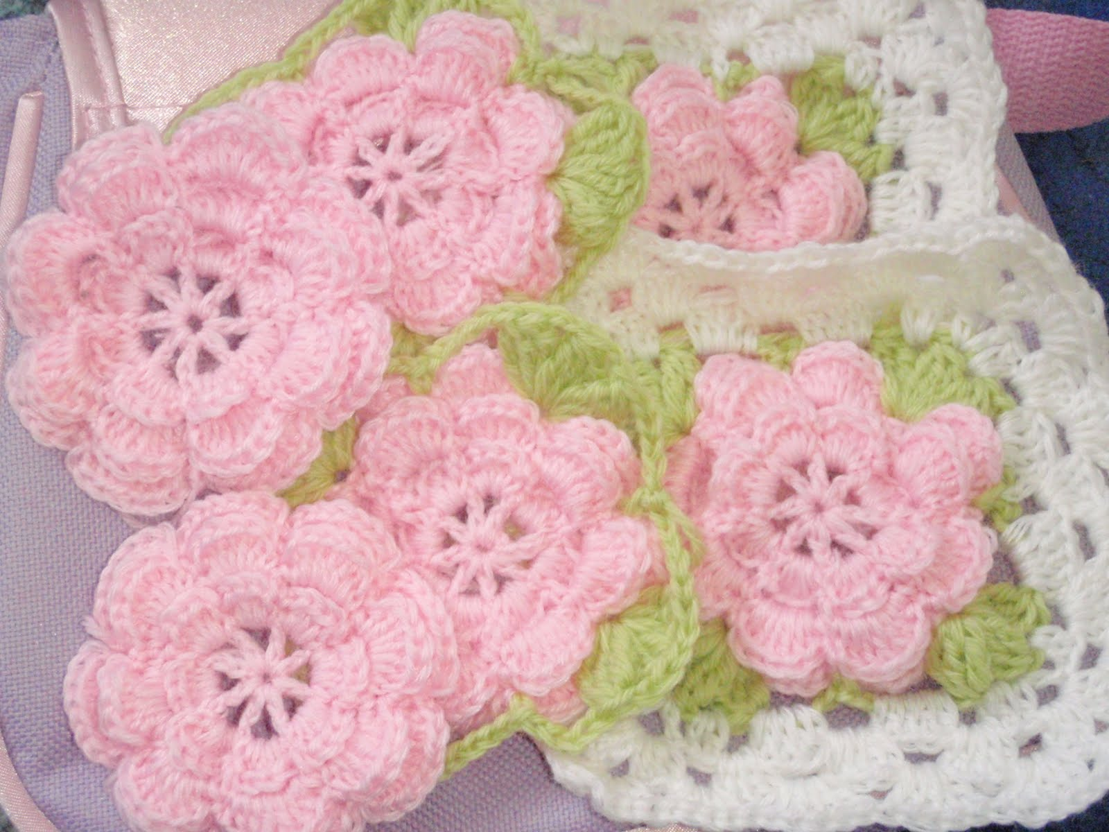 Misti Crochet: Rosie Squares