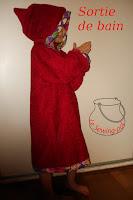 sortie de bain peignoir bathrobe