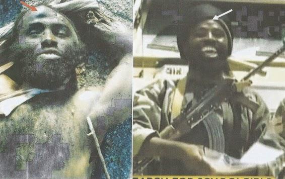 nigerian army shekau's death