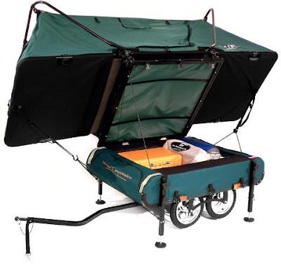 Remolque/carpa para llevar con la Bicicleta Remolquetienda2