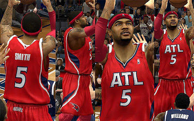 NBA 2K13 Atlanta Hawks Red Alternate Jersey Patch