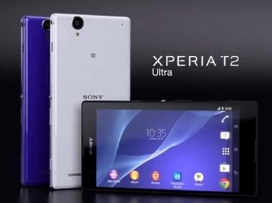 Spesifikasi Sony Xperia T2 Ultra Dual