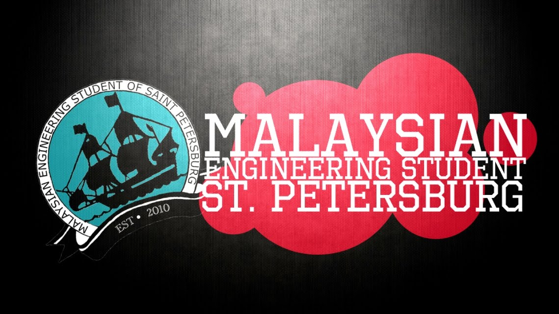 Malaysian Engineering Student of St. Petersburg