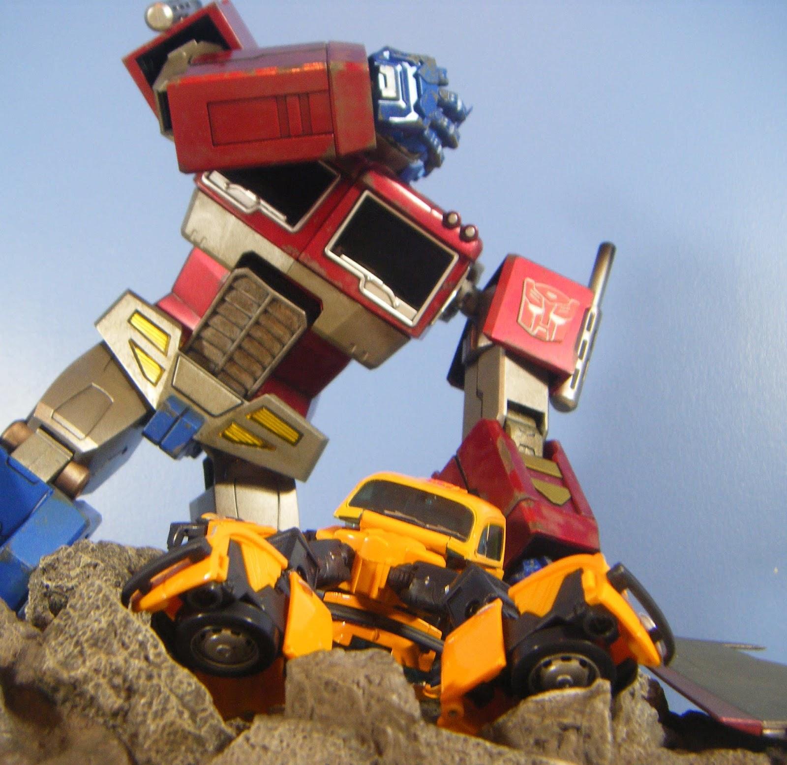 Optimus Prime Transformers Prime Toy