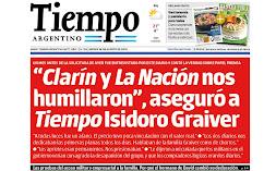 Diario Tiempo Argentino.
