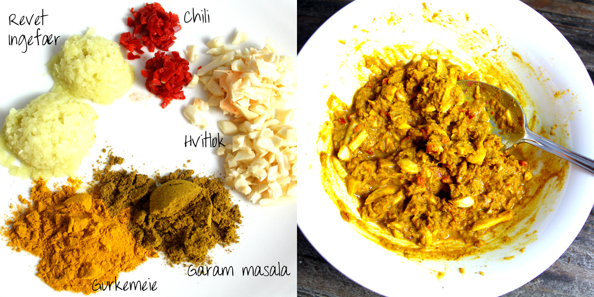 god indisk gryta garam masala