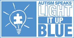 Help Turn on The Blue Light with Tee-iabo Designs