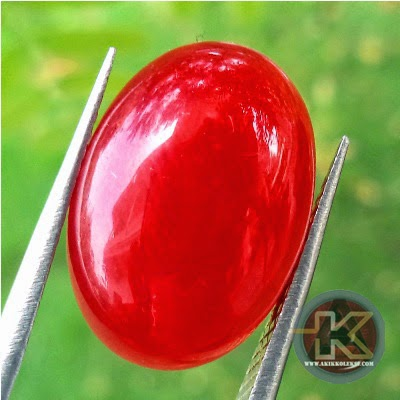 Batu Giok Merah Batu Permata Asli Batu Mulia Natural
