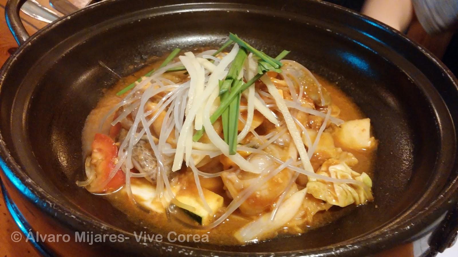 Vive corea comidas coreanas deliciosa cena coreana en madrid - Cenas sin cocinar ...