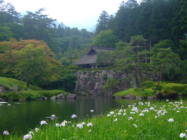 Kobugahara Garden in Tochigi, Japan