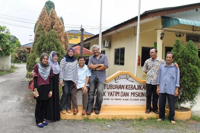 Lawatan Ke Rumah Anak Yatim Di Klang Azie Kitchen