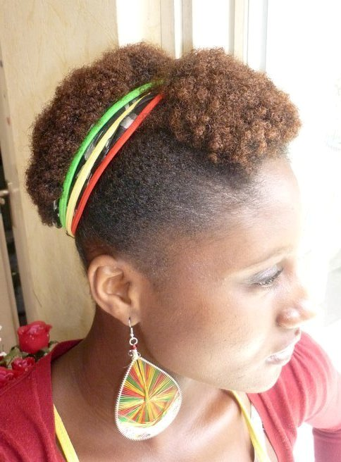 Tapered TWA Natural Hairstyles for Black Women