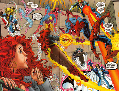 Web of Spider-Man 129 Firestar Costume