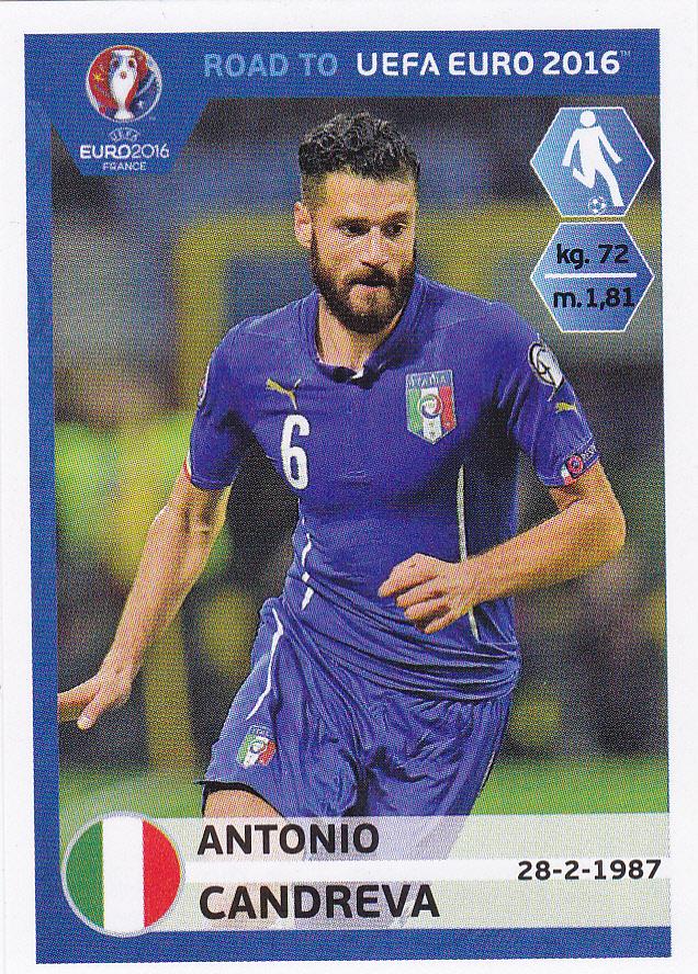cromos italia stickers colecci u00f3n road to uefa euro 2016 de panini