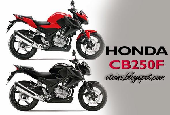 Pilihan Warna Dan Harga Honda CB250F Terbaru