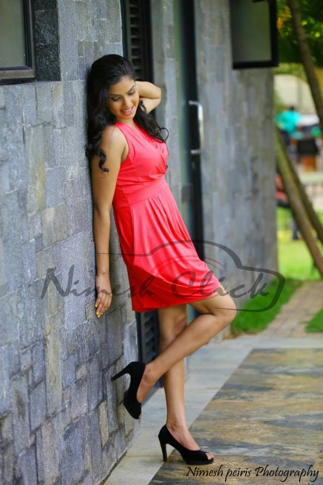 Rithu Akarsha short dress