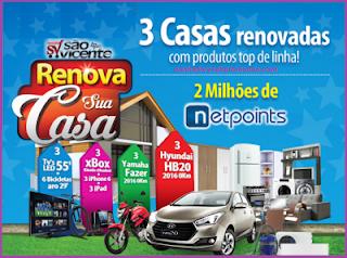 Participar Promoção Supermercados São Vicente 2016
