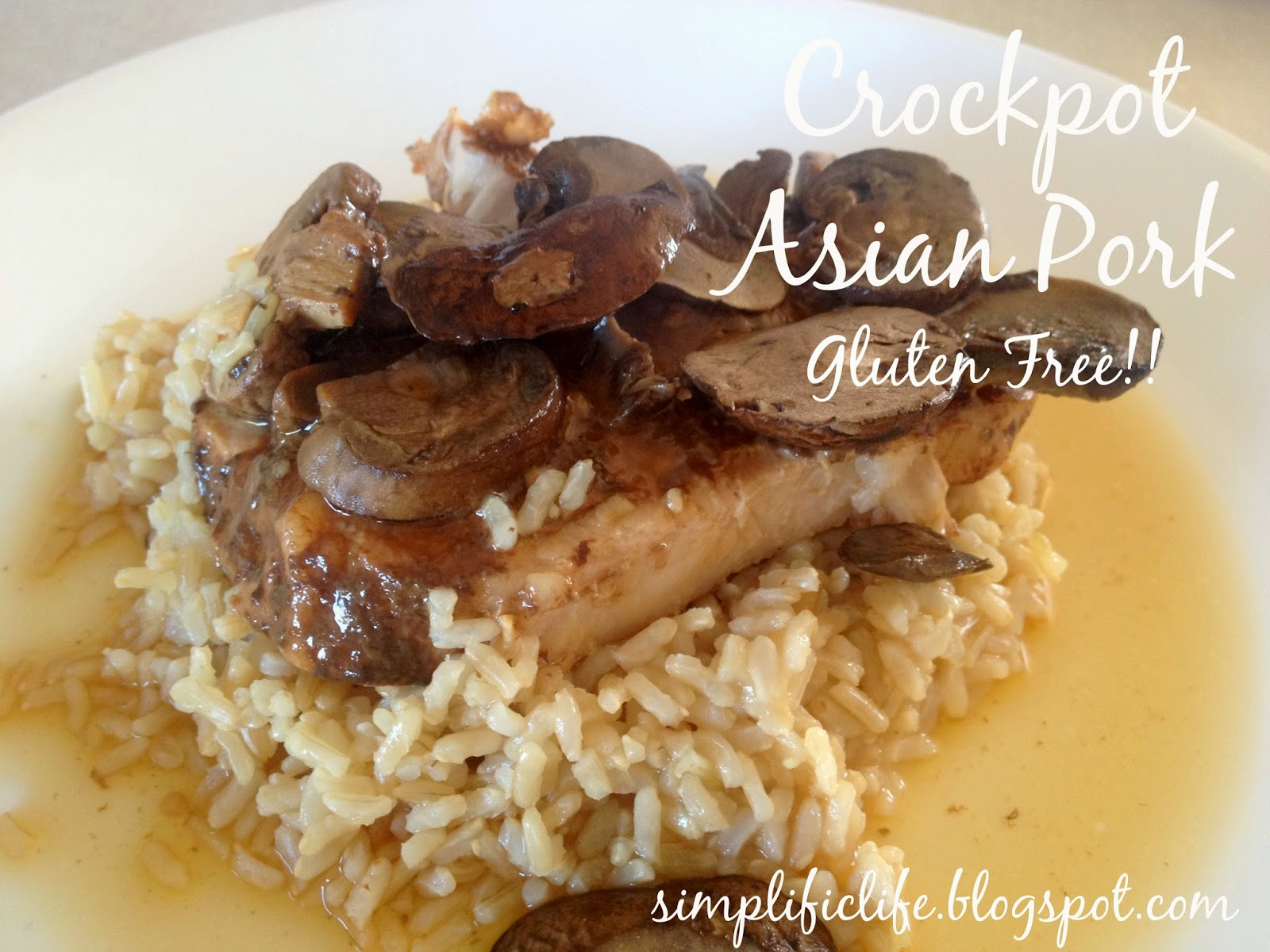 The Simple Life: Gluten Free Crockpot Asian Pork with ...
