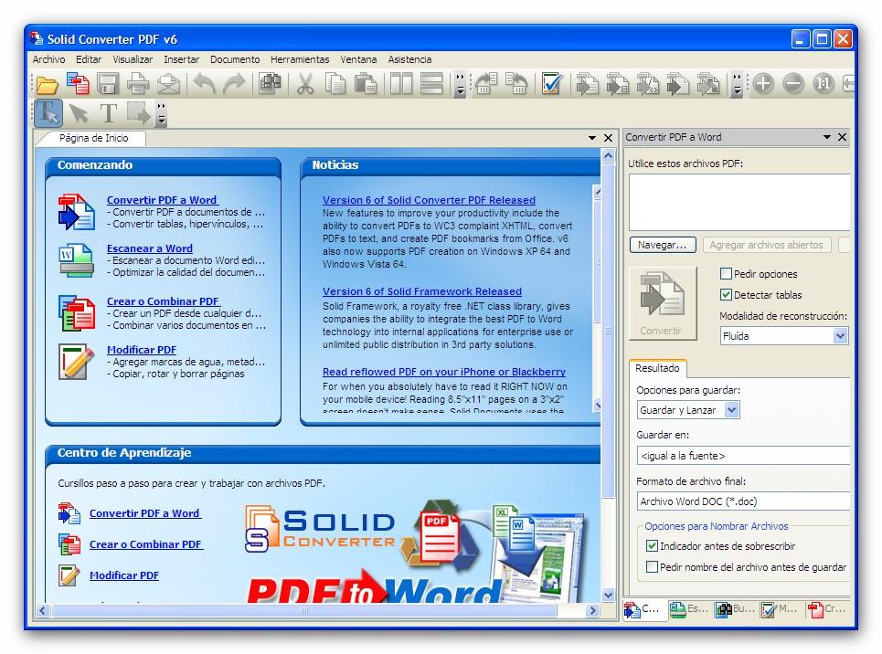 C mo convertir Word a PDF