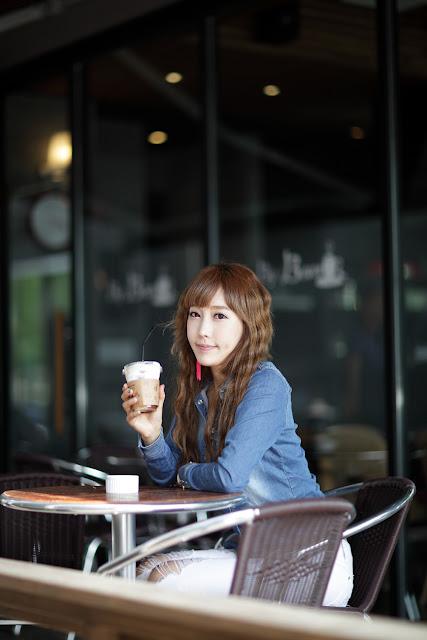 5 Im Min Young - Casual Outdoor-very cute asian girl-girlcute4u.blogspot.com