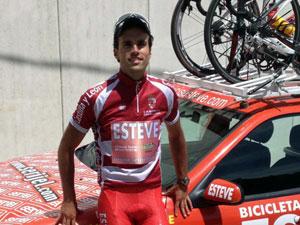 El ciclista Alberto Bejarano