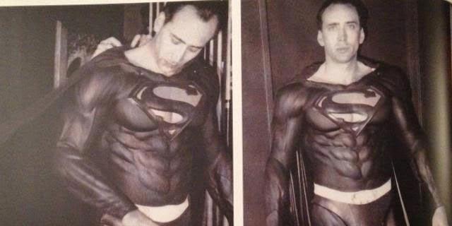 Superman Lives ニコラス・ケイジ