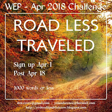 WEP CHALLENGE FOR APRIL....ROAD LESS TRAVELED
