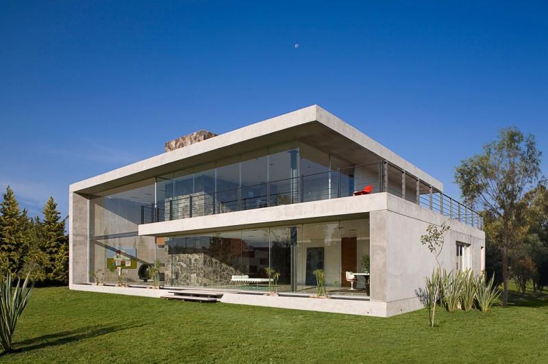 Diseño de Interiores & Arquitectura Masiva Residencia de Hormigón y